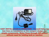 Ultraviolet Light Water Purifier Whole House UV Sterilizer 55W 12 GPM with 2 Replacement