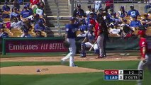 Hyun-Jin Ryu goes 4 innings in Dodgers tie versus Reds and speaks after outing