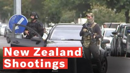New Zealand Shootings: Multiple Fatalities As Gunmen Attack Attack 2 Mosques In Christchurch