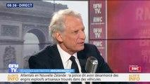 """Européennes: Dominique de Villepin """"pourrait voter"""" pour Nathalie Loiseau (LaRem)"""
