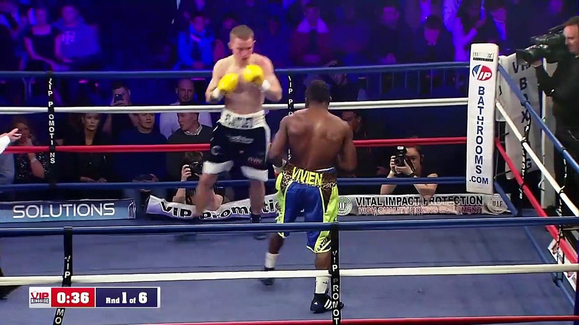 Jack Flatley vs Serge Ambomo (09-03-2019) Full Fight 720 x 1280