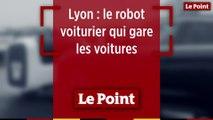 Un robot voiturier gare les voitures à l'aéroport de Lyon