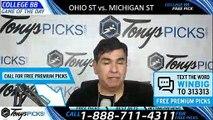 Ohio State Buckeyes vs. Michigan State Spartans 3/15/2019 Picks Predictions