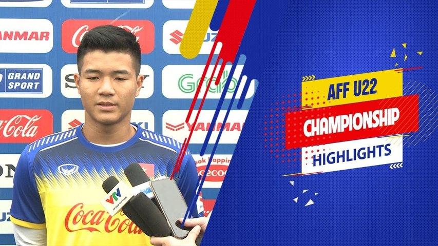 Hà Đức Chinh: Người hâm mộ là niềm khích lệ để bọn em đạt kết quả tốt nhất | VFF Channel