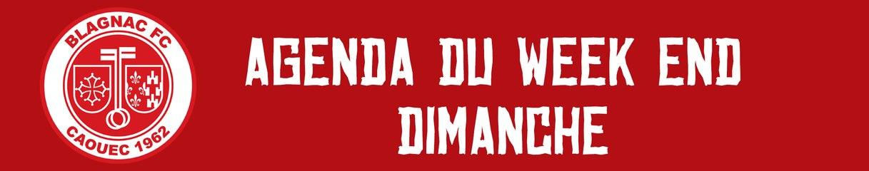 AGENDA DIMANCHE 17 MARS