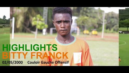 HIGHLIGHTS BITTY FRANCK_Ivoire Académie_Mars2019