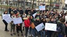 Les lycéens et étudiants réunis pour le climat