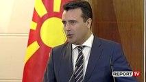 Report TV - Zaev: Në verë mblidhen qeveritë e dy vendeve, pikë e përbashkët kufitare në Qafë-Thanë