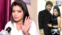 Nisha Dubey ने इस अंदाज में दी Khesari Lal को जन्मदिन की शुभकामनाये
