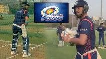 Yuvraj Singh Joins Mumbai Indians Net Practice Camp Ahead Of IPL 2019 | Oneindia Telugu