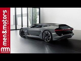 Audi PB18 E-tron | Sports Car of Tomorrow