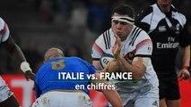 VI Nations - Italie vs. France en chiffres