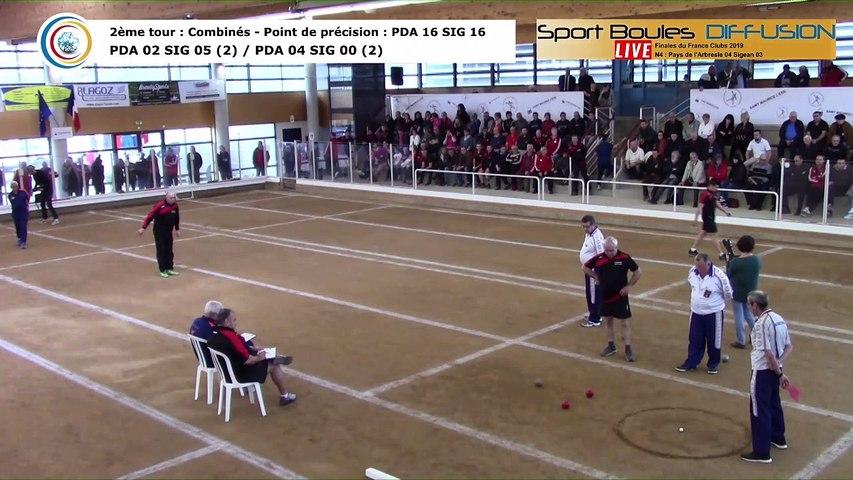Second tour intégral, finale France Clubs 2019, N4, Pays de l'Arbresle contre Sigean, Saint-Maurice l'Exil 2019