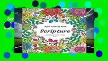 Scripture - Adult Coloring Book - Stress Relieving Patterns   Designs - Volume 1: More than 50