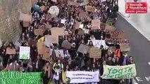 VIDEO. Poitiers : 2.000 collégiens et lycéens marchent pour le climat