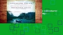 Review  Singapore Dream And Other Adventures  Travel Writings from an Asian Journey - Herman Hesse