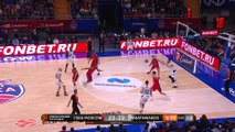 CSKA Moscow - Panathinaikos OPAP Athens Highlights | Turkish Airlines EuroLeague RS Round 26