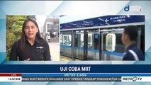Hari ke-4, Uji Coba MRT Diikuti 12 Ribu Penumpang