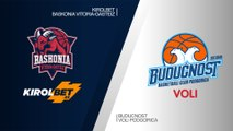 KIROLBET Baskonia Vitoria-Gasteiz - Buducnost VOLI Podgorica Highlights   EuroLeague RS Round 26