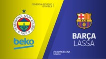Fenerbahce Beko Istanbul - FC Barcelona Lassa Highlights | Turkish Airlines EuroLeague RS Round 26