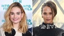 Alicia Vikander and Lily James Join 'One Red Nose Day and a Wedding' Cast | THR News