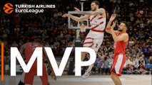 Turkish Airlines EuroLeague Regular Season Round 26 MVP: Mike James,  AX Armani Exchange Olimpia Milan