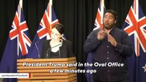New Zealand Prime Minister Jacinda Ardern Says She Doesn't Agree With Trump's Remark About White Nationalism