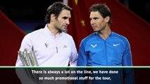 Federer excited for Nadal last four clash