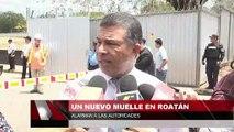 Un nuevo muelle en Roatan alarma a las autoridades