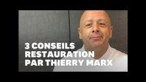 """Thierry Marx: """"Mes 3 conseils pour réussir quand on veut ouvrir son restaurant"""""""
