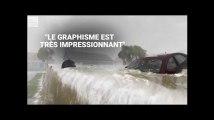 Ouragan Florence: ces animations de la chaîne météo américaine montrent son extrême dangerosité