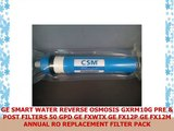 GE SMART WATER REVERSE OSMOSIS GXRM10G PRE  POST FILTERS 50 GPD GE FXWTX GE FX12P GE