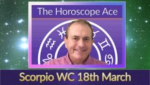 Scorpio Weekly Horoscope from 18th March - 25th March (1)