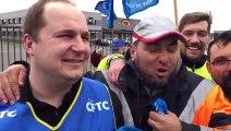 Vladimir Djordjevic, défenseur syndical CFTC, et Younès Serhani, ex-salarié de SEB-Tra
