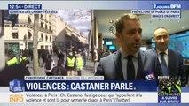 """Christophe Castaner sur les violences à Paris: """"Nous ne laisserons rien passer"""""""