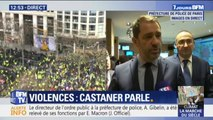 """Christophe Castaner: """"Il y a près 7 000 à 8 000 manifestants sur Paris, et parmi eux 1 500 ultra-violents qui sont venus pour casser"""""""