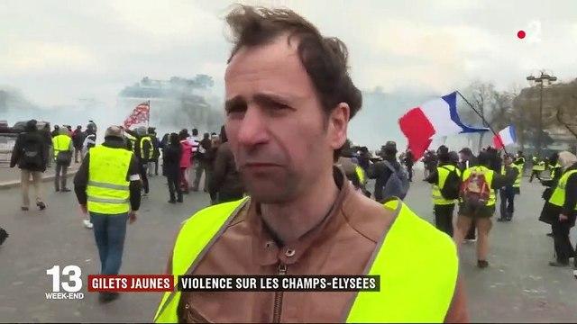 """Fouquet's dégradé, magasins dévalisés... La manifestation des """"gilets jaunes"""" dégénère sur les Champs-Elysées"""