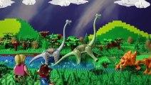 LEGO Jurassic Park STOP MOTION Dinosaurs Escape! | LEGO Jurassic World | By LEGO Worlds