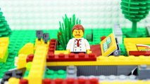 LEGO City Pizza Fail STOP MOTION LEGO City Angry Hulk Brick Building | LEGO City | By Billy Bricks