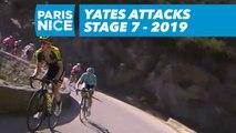 Yates attacks / Yates attaque - Étape 7 / Stage 7 - Paris-Nice 2019