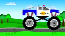 Monster Truck Police _ Police | Stories about Police for Children