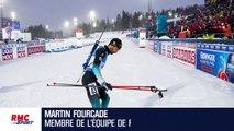 Biathlon :  Fourcade présente ses excuses à ses coéquipiers