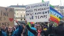 Slogans, musique... 2000 personnes à la Marche pour le climat