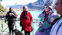 Annecy (Haute-Savoie) : pleine lumière sur le carnaval vénitien