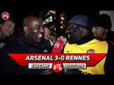 Arsenal 3-0 Rennes | Aubameyang Was Fantastic Today!! (Kenny Ken)