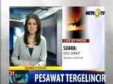 Pesawat Lion Air Tergelincir di Bandara Soekarno-Hatta
