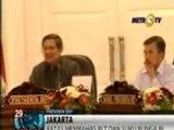 Microphone di Depan SBY Kembali Mati