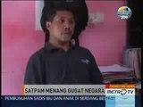 Primetime News Metro TV: Satpam Menang Gugat Negara