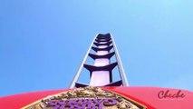 Apollo's Chariot POV Roller Coaster Ride | Front Seat Thrill Ride | Apollo's Chariot Busch Gardens Amusement Park