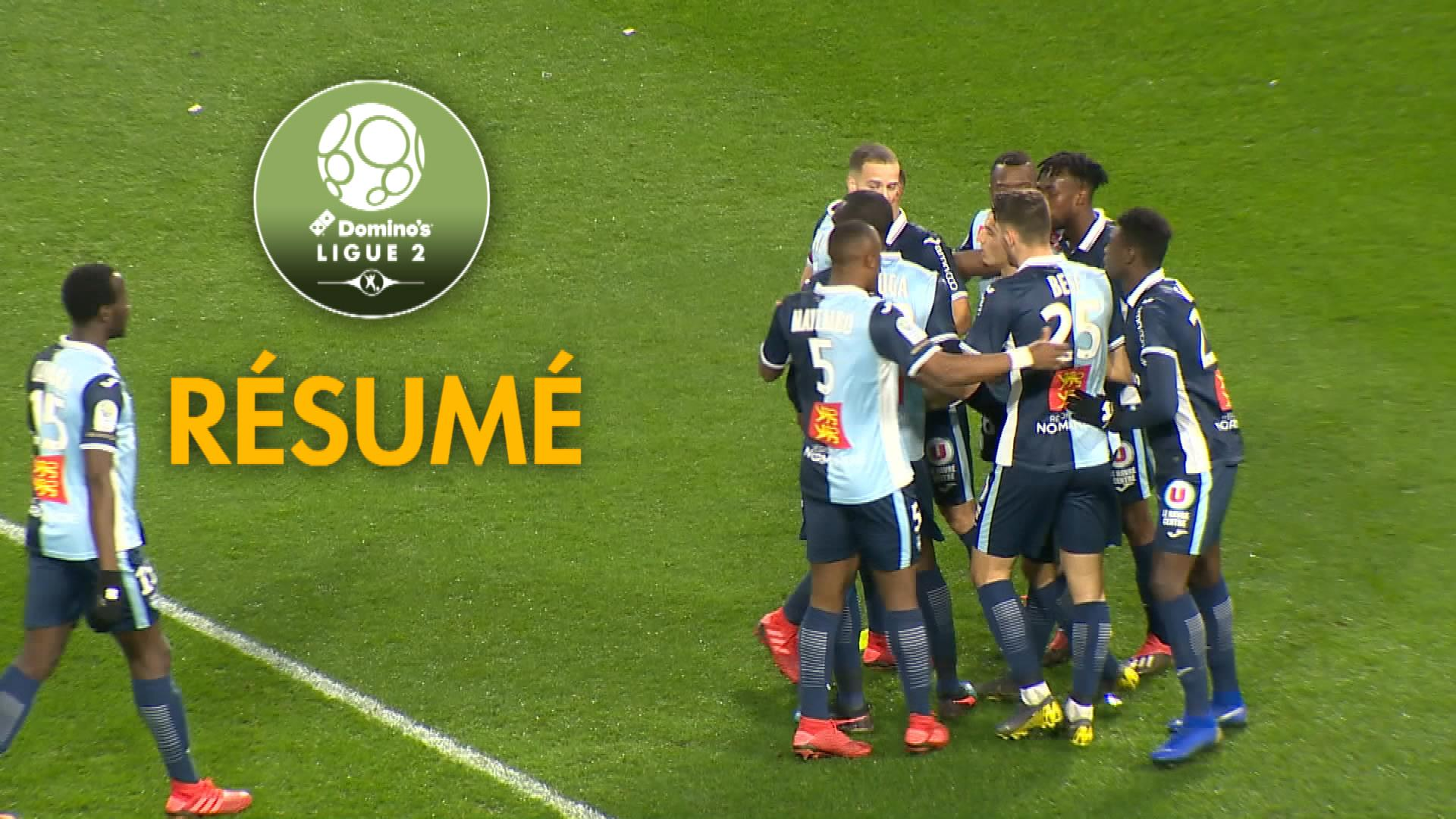 Havre AC – AC Ajaccio (3-1)  – Résumé – (HAC-ACA) / 2018-19